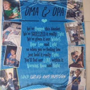Custom personalised Blankets